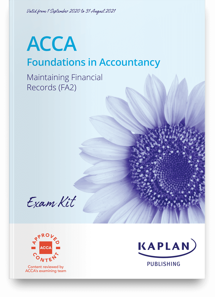 Maintaining Financial Records (FA2) Exam Practice Kit