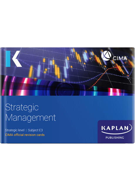 CIMA Strategic Management (E3) Revision Cards 2021