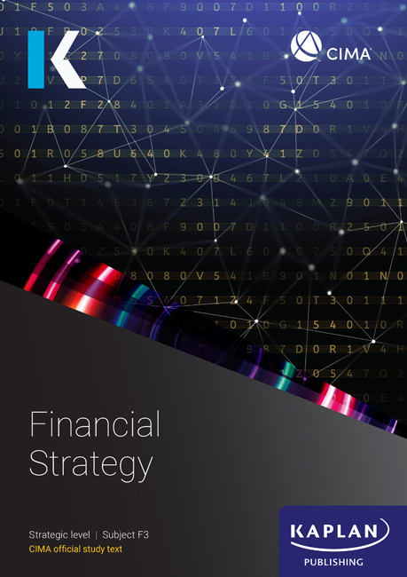 CIMA Financial Strategy (F3) Study Text