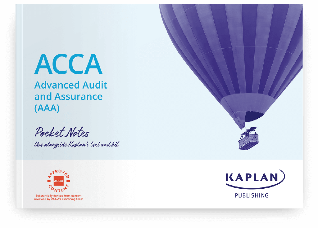 Advanced Audit and Assurance AAA (INT & UK) Pocket Notes