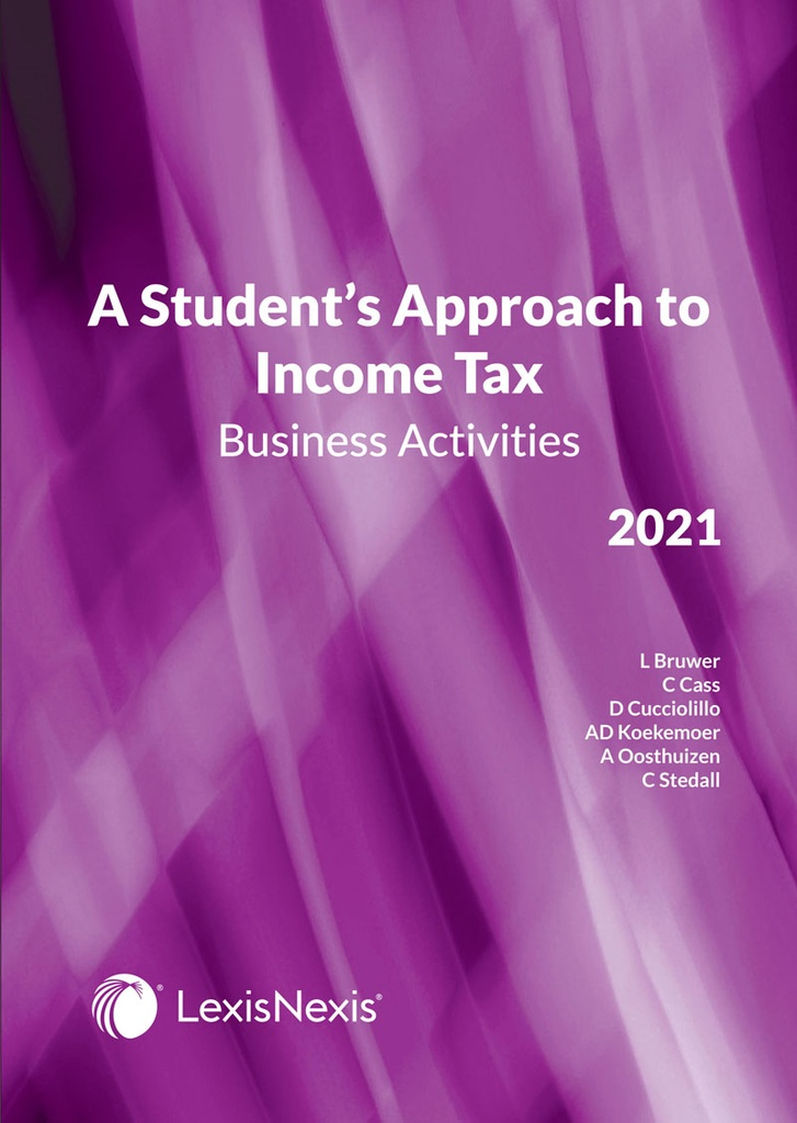 A Student's Approach To Income Tax 2020: Business Activities