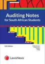 [9780639008622] Auditing Notes For South African Students  2021