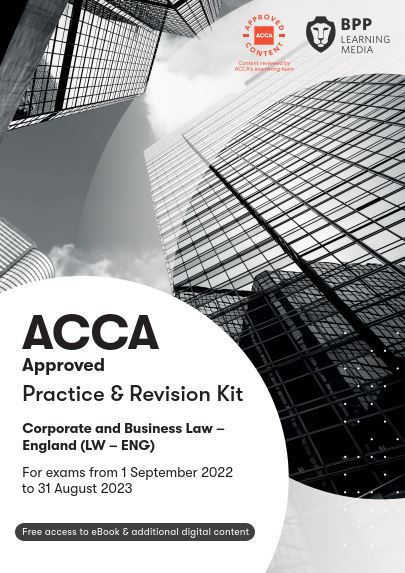 Corporate and Business Law(LW) (ENG) Practice & Revision Kit