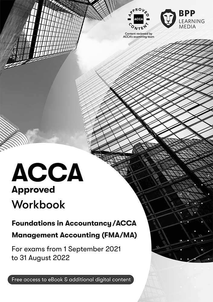 Management Accounting FIA (MA/FMA) Study Text 2021