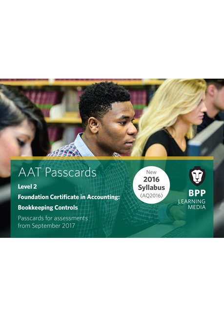 AAT Bookkeeping Control Level 2 Passcards