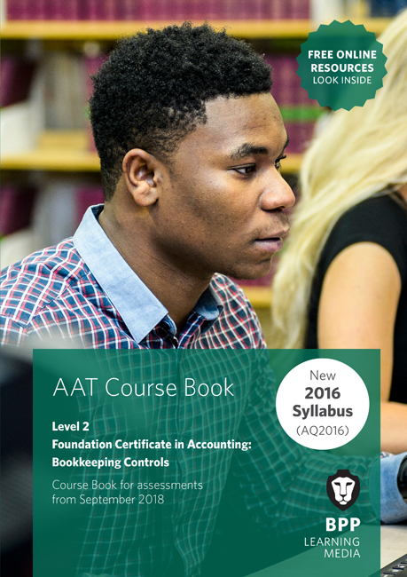 AAT Bookkeeping Controls Level 2 Course Book