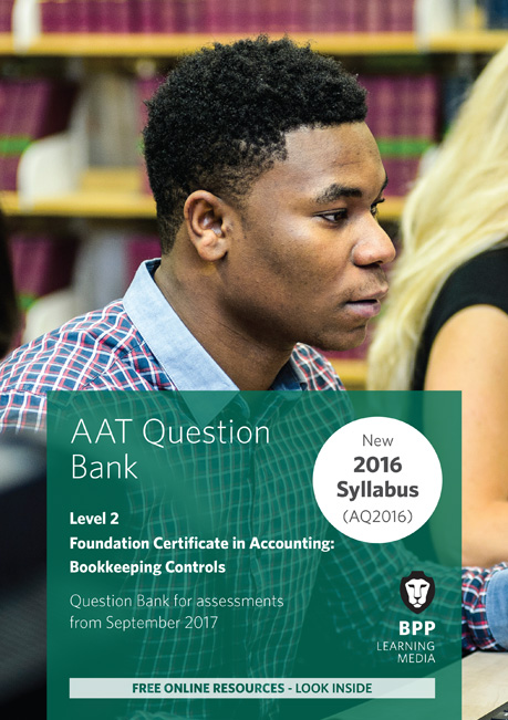 AAT Bookkeeping Controls Level 2 Question Bank
