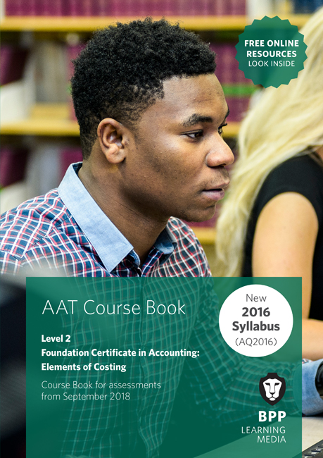 AAT Elements of Costing Level 2 Course Book