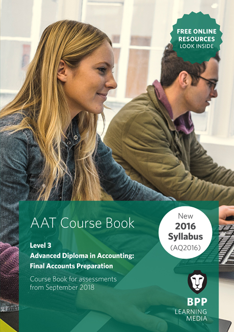 AAT Final Accounts Preparation Level 3 Course Book