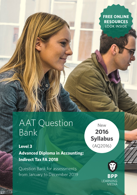 AAT Indirect Tax FA2016 Level 3 Question Bank