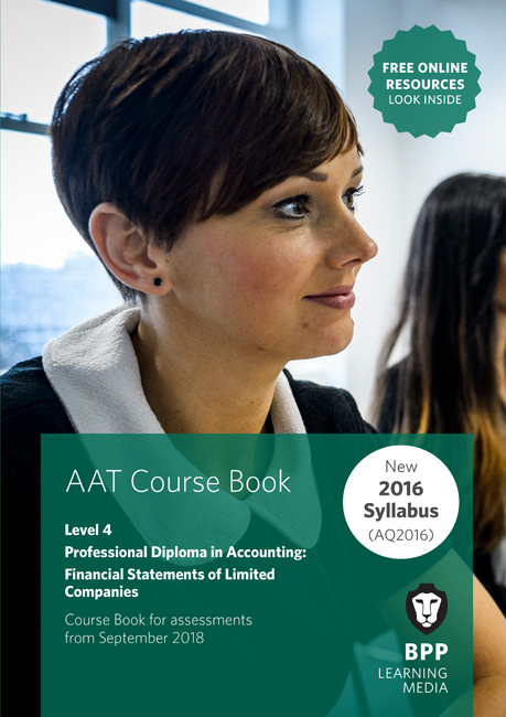 AAT Mandatory Financial Statements of Limited Companies Level 4 Course Book