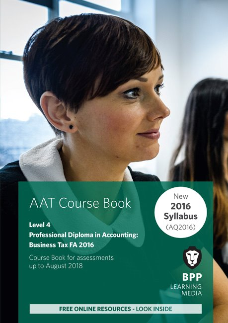 AAT Optional Business Tax FA2016 Level 4 Course Book