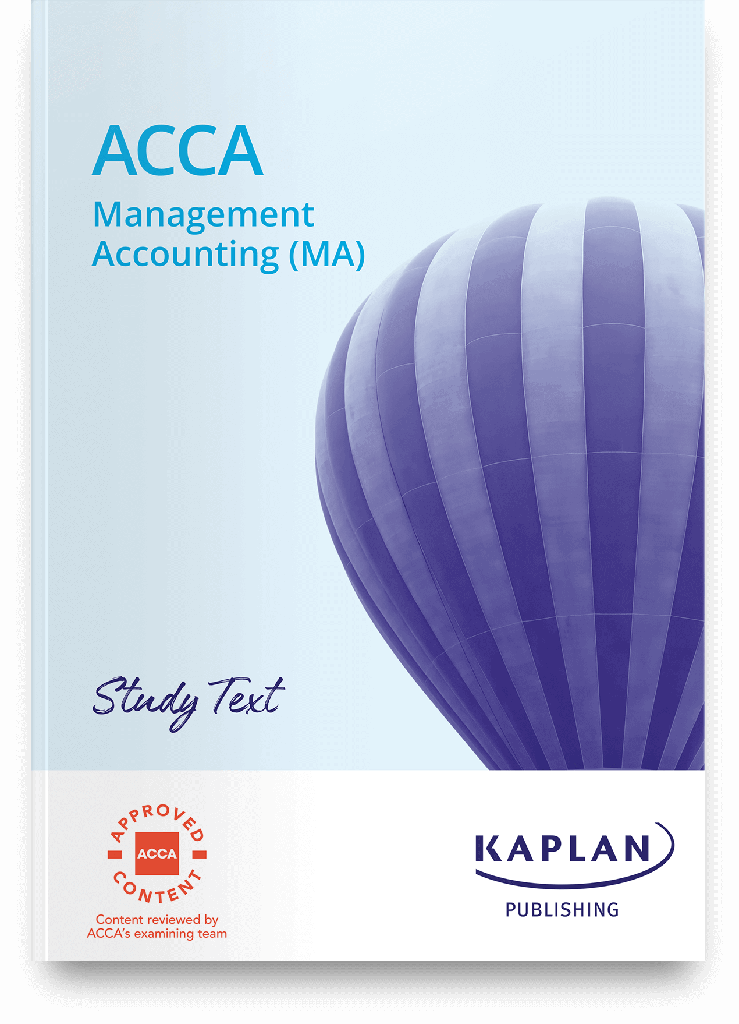 (eBook) Management Accounting (MA) Study Text