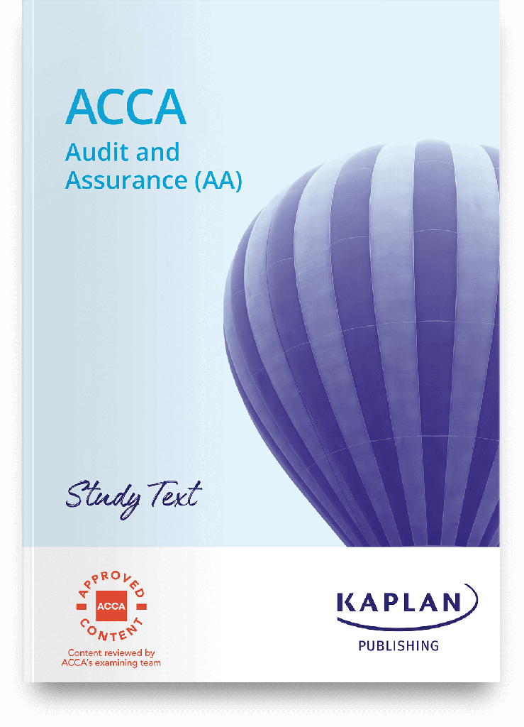 (eBook) Audit and Assurance (AA) Study Text 2021