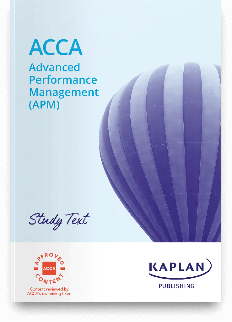 (eBook) Advanced Performance Management (APM) Study Text 2021
