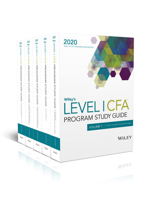 Wiley's Level I CFA Program Study Guide + Test Bank - 2021 (eBooks)