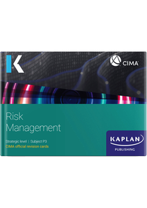 [9781787407367] CIMA Risk Management (P3) Revision Cards 2021