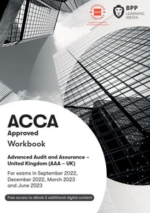 [9781509723683] Advanced Audit and Assurance(AAA) Study Text