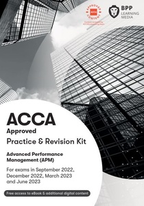 [9781509724567] Advanced Performance Management(APM) Practice & Revision Kit 2021