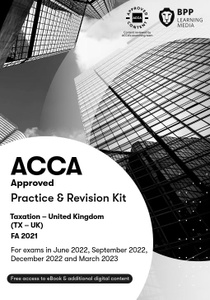 [9781509728169] ACCA TX Taxation (FA2019) Practice & Revision Kit 2021