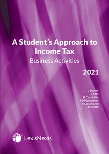 [9780639009391] A Student's Approach To Income Tax 2021: Business Activities