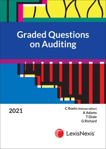 [9780639003825] Graded Questions on Auditing 2020