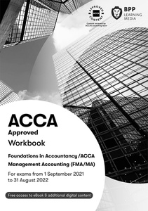 [9781509724161] Management Accounting FIA (MA/FMA) Study Text