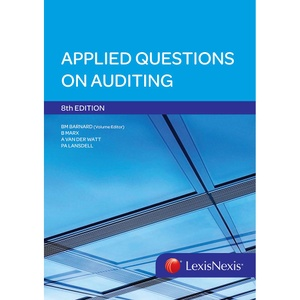 [9780409128659] Applied Questions on Auditing