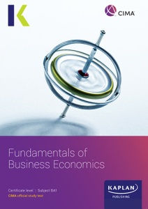[9781787404861] CIMA BA1 Fundamentals of Business Economics Study Text 2021