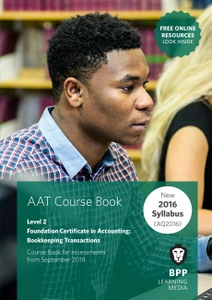 [9781509711987] AAT Bookkeeping Transactions Level 2 Coursebook