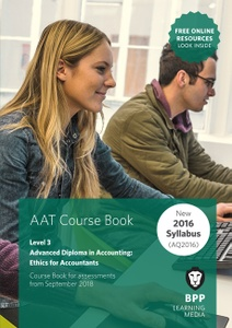[9781509712069] AAT Ethics For Accountants Level 3 Course Book