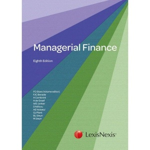 [9780409124774] Managerial Finance (Arriving 28 Feb 2021)