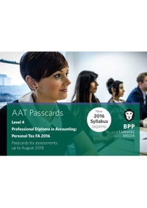 [9781509714995] AAT Optional Personal Tax FA2016 Level 4 Passcards