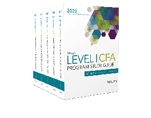 Wiley's Level I CFA Program Study Guide + Test Bank - 2020 (eBooks)